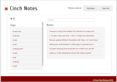 Cinch-notes